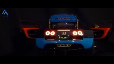 maqueta Bugatti Veyron Vitesse