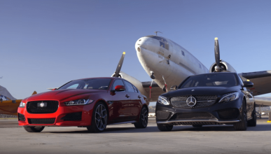 mercedes-amg c43 vs jaguar xe 35t