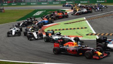 Salida del GP Italia 2016