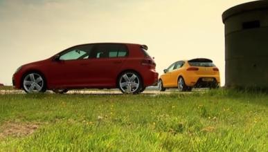 Volkswagen Golf R VI y Seat León Cupra R II