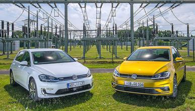 Volkswagen e-Golf vs Volkswagen Golf 1.5 TSI