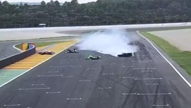 Accidente en Cheste durante el Campeonato Interprovincial de Velocidad