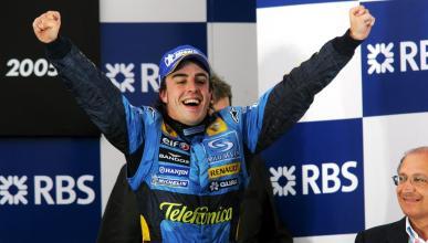 Alonso, campeón del mundo de F1 2005
