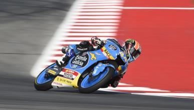 Aron Canet - Libres Moto3 Aragón 2017