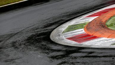 Circuito de Monza lluvia