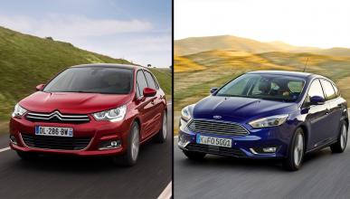 Citroën C4 vs Ford Focus