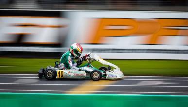 David Vidales, piloto de karting