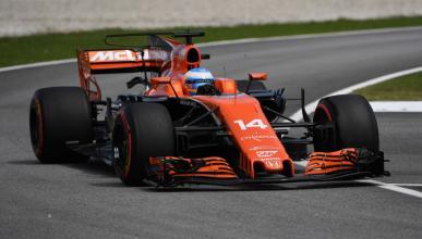 Fernando Alonso en la clasificación del GP de Malasia
