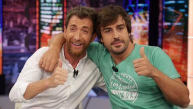 Fernando Alonso y Pablo Motos