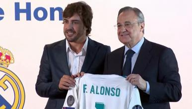 ​Fernando Alonso, socio de honor del Real Madrid