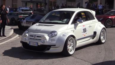 Fiat 500 con motor de Alfa Romeo 4C y tracción trasera