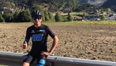 Jorge Martín sufre el atropello de un coche mientras montaba en bicicleta