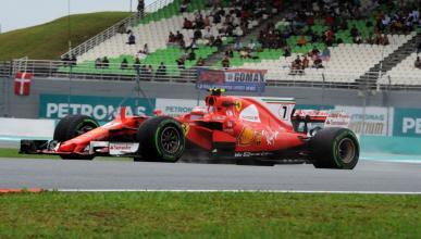 Kimi Räikkönen, en los Libres 3 de Malasia