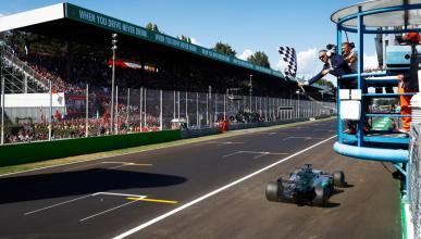 Lewis Hamilton gana en Monza