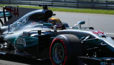 Lewis Hamilton, en el GP de Italia