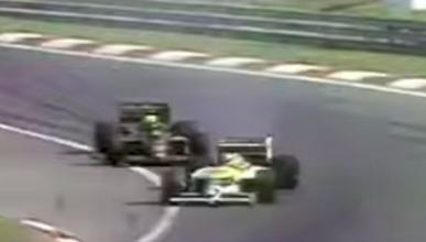 Lucha Senna vs Piquet Hungría 1986