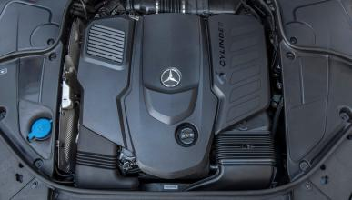 Motor 6 cilindros en línea Mercedes
