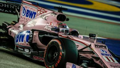 Sergio Pérez, piloto de Force India