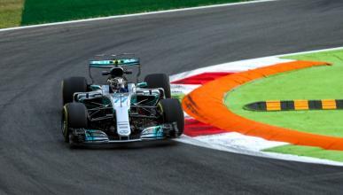 Valtteri Bottas en el GP italia 2017
