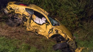Accidente a 300 km/h
