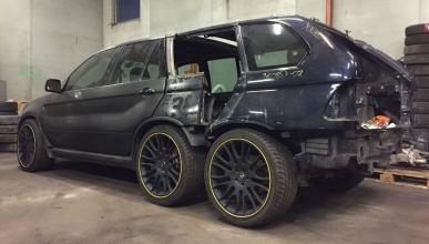 BMW X5 seis ruedas