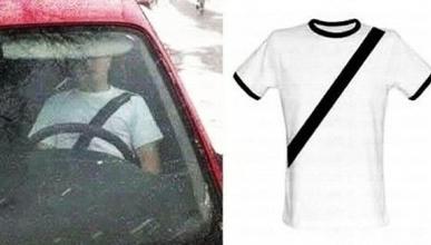 Camiseta antimultas