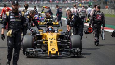 Carlos Sainz, en el GP México F1 2017