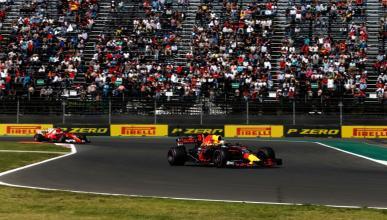 Daniel Ricciardo F1 GP México 2017