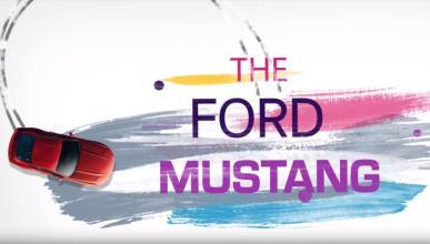 Evolución Ford Mustang