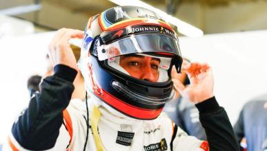 Fernando Alonso, en la clasificación para GP EEUU F1 2017