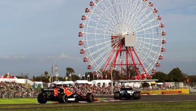 Fernando Alonso en el GP Japón 2017