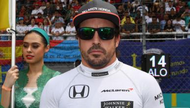 Fernando Alonso, en el GP de Malasia 2017