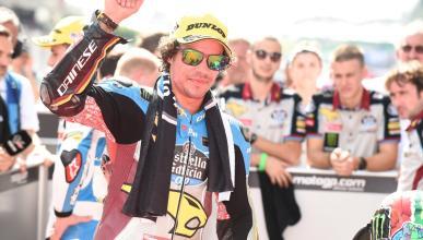 Franco Morbidelli, campeón del mundo de Moto2 2017