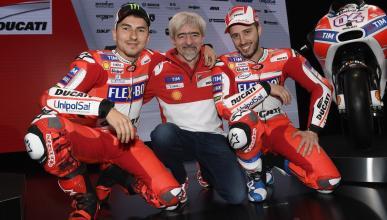 Gigi Dall'Igna agradece la actuación de Lorenzo en el GP de Malasia