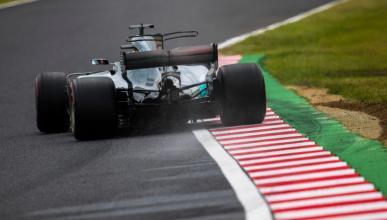 Hamilton en el GP Japón 2017