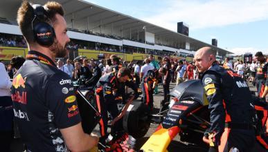 Ingeniero de Red Bull F1