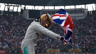 Lewis Hamilton gana el título F1 2017