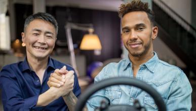 Lewis Hamilton y Gran Turismo Sport