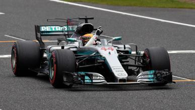Lewis Hamilton, en pole en Suzuka
