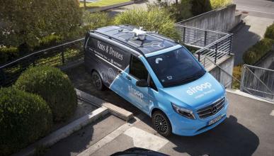 Mercedes Vito drone Siroop