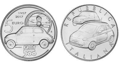Moneda Fiat 500