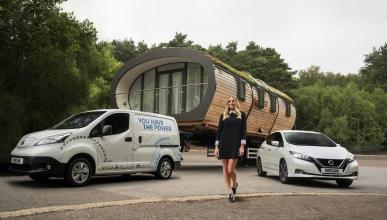 Nissan e-NV200 Margot Robbie
