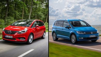 Opel Zafira vs Volkswagen Touran