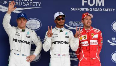 Pole de Hamilton en el GP Japón 2017
