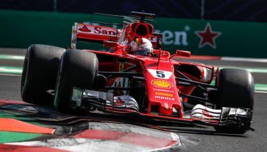 Pole de Vettel en el GP Mexico
