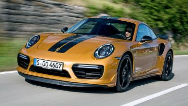 Prueba del Porsche 911 Turbo S Exclusive