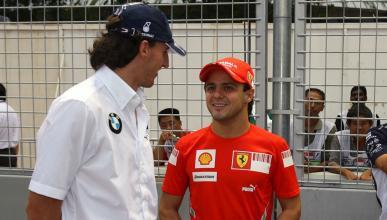 Robert Kubica y Felipe Massa