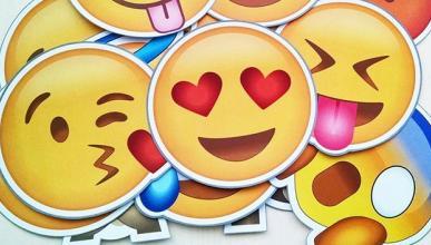 Emoji emoticono popular Apple