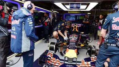Adrian Newey ante el Red Bull F1