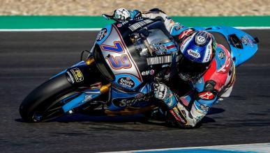 Álex Márquez prueba en Jerez la Honda de MotoGP